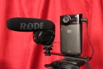 Kodak Zi8 with the Rode Microphone