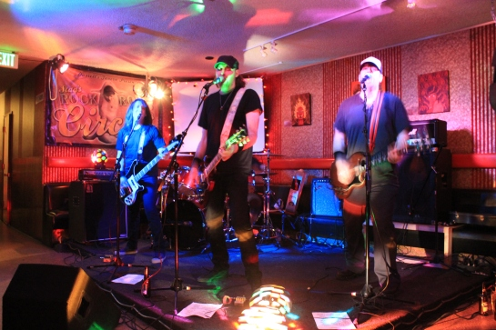 QMP Playing at Darrells Tavern April 2012