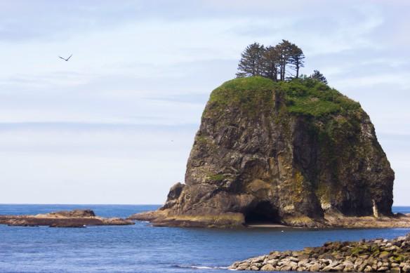 La Push - Cave island